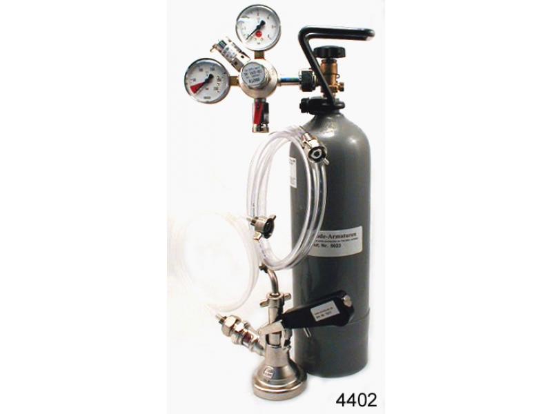 1 ltg. Zapfanlage mit Co2 Flasche.