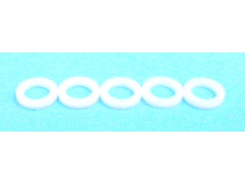 5 Stück Polyamid Dichtung 11,8/20/3 mm. Co2 und Stickstoff Druckminderer an Co2 Flasche