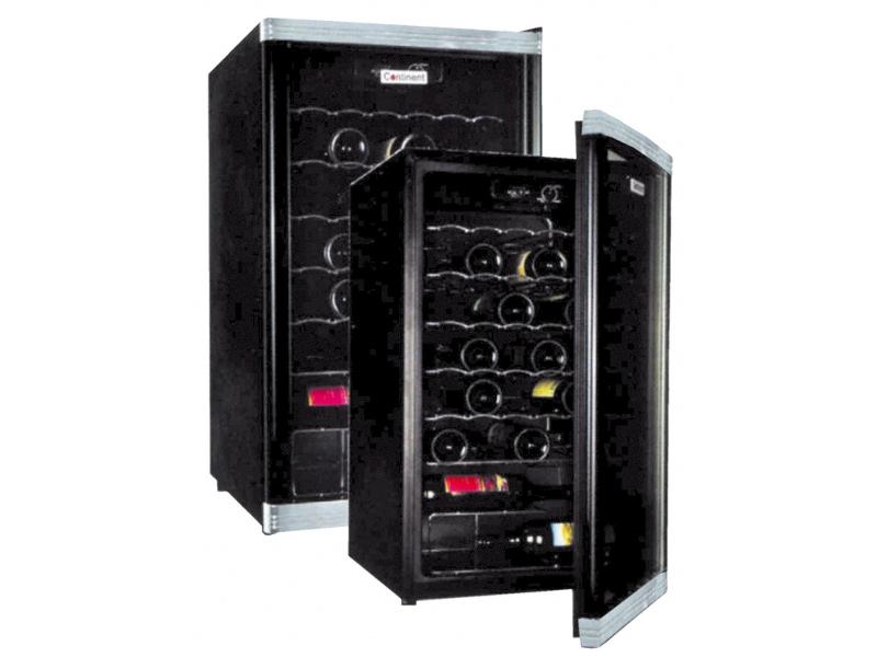 Glastür- Weinkühlschrank 150 Liter mit Innnenbeleuchtung Türanschlag wechselbar