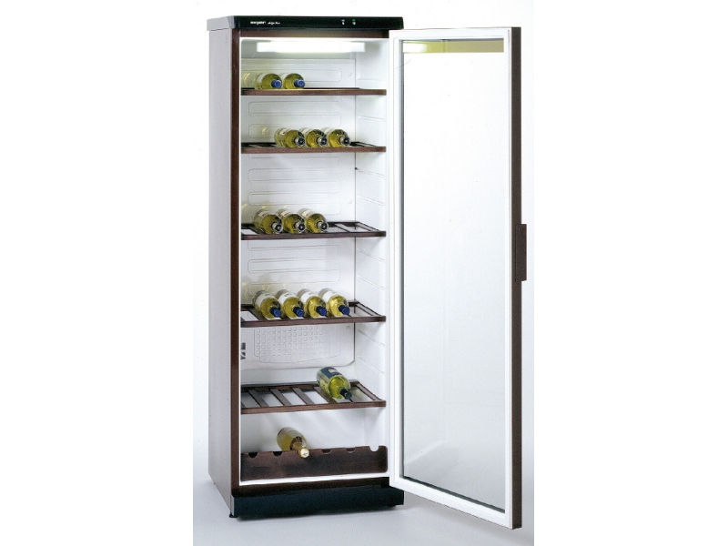 Glastür- Weinkühlschrank 350 Liter mit Innnenbeleuchtung