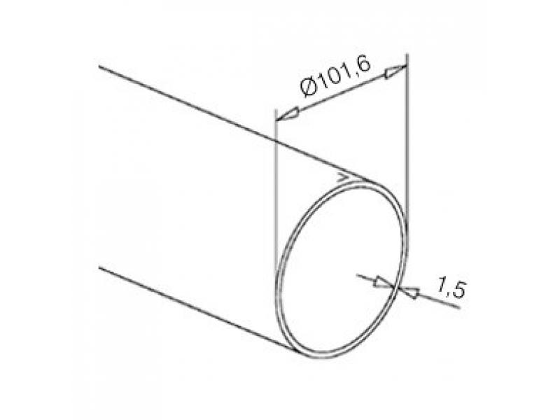 messingeffekt rohr 101 6 mm im zuschnitt 1 60 bode armaturen. Black Bedroom Furniture Sets. Home Design Ideas