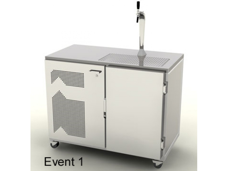 Mobile Event Kühl-Theke 1200 mm
