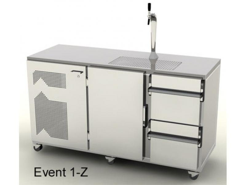 Mobile Event Kühl-Theke 1700 mm