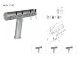 Schanksäule T-Form geneigt aus 102/129 mm Rohr 2, 3,...