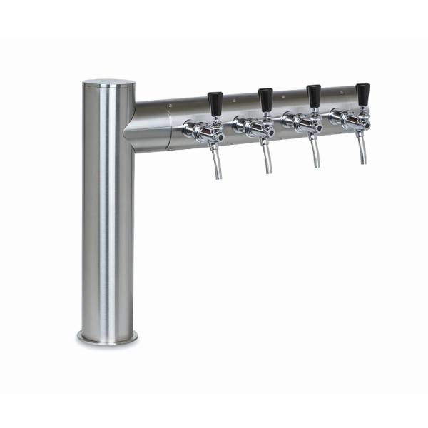 Rechtsausleger Schanksäulen 2, 3 oder 4 leitig aus 102 mm Rohr in 5 Finishes