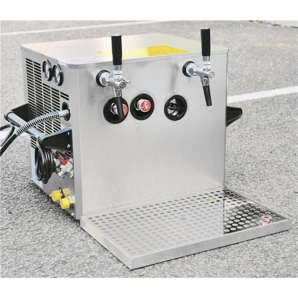 Verwendungsfertige Schankanlage 2-leitig 130 Liter/h mit Sachkundebescheinigung