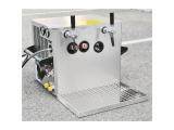 Verwendungsfertige Schankanlage 2-leitig 130 Liter/h mit...