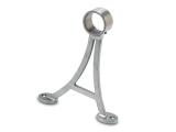 Fußlaufträger Edelstahl Design Fusslaufstützen für unsere 38,1 oder 50,8 mm Rohre