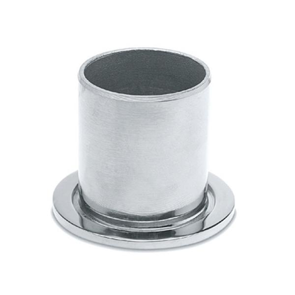 Rohrbefestigungsflansch Chrom Design für unser 19, 25,4, 38,1 oder 50,8 mm Rohr