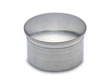 Endkappe gewölbt Chrom Design für unser 19,0, 25,4, 38,1 oder 50,8 mm Rohr