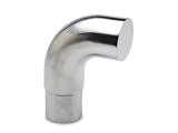 Endbogen Chrom Design für 38,1 mm Rohr