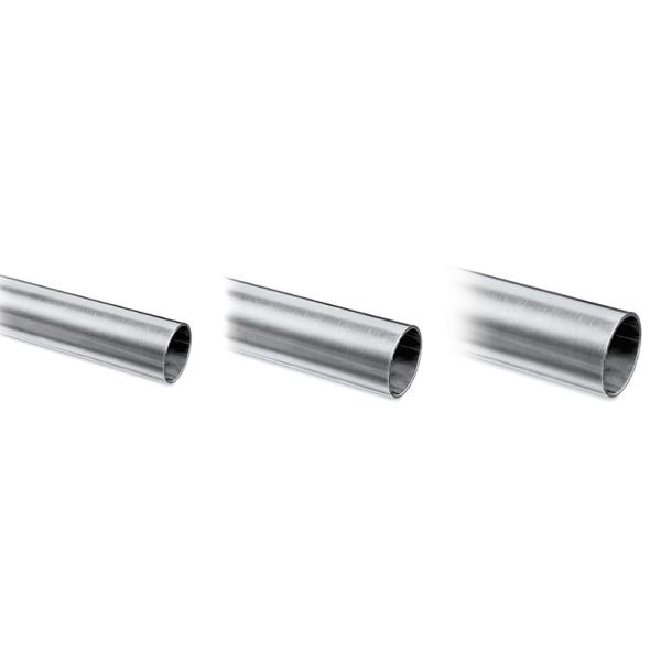 Chrom Effekt Rohr hochglanzpoliert 25,4 mm im Zuschnitt