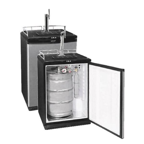Fassbier Kühlschrank Bierbar Fassbierkühlschrank BK160 für Fässer bis 50 Liter