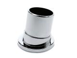 Rohrbefestigung 80 Grad Chrom Design für 25,4, oder 38,1 mm Rohr