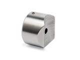 Rohradapter Chrom Design für 50,8 mm Rohr