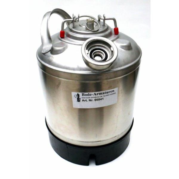 Bier Leitung Reinigungsbehälter 1 Anschluss Flach-, Korb-, Kombi-, Köpi Fitting