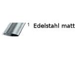 Kreuz- Rohrverbinder Edelstahl Design für 25,4 oder 38,1 mm Rohr