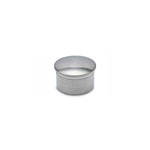 Endkappe gewölbt für Edelstahl Design 19, 25,4, 38,1 oder 50,8 mm Rohr