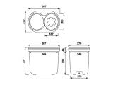 Gläserspülgerät Druckspülgerät Glasspülautomat Gläserdruckspülgerät - Spülboy NU