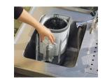 Gläserspülgerät Druckspülgerät Glasspülautomat - 1 Kammer und Nachspülung - Delfin