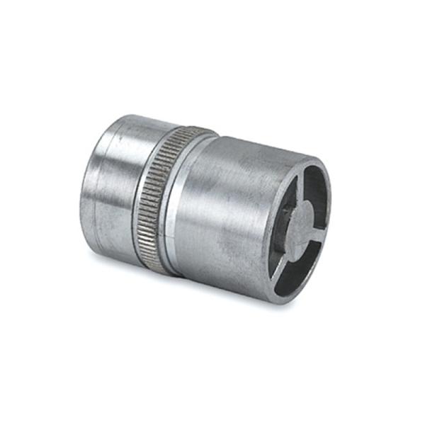 Rohrverbinder für Edelstahl Design 19, 25,4, 38,1 oder 50,8 mm Rohre