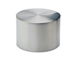 Endkappe für Edelstahl Design 38,1 mm Rohr