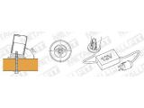 Rohrbefestigungshülse 80 Grad Messing Design für 25,4, oder 38,1 mm Rohr