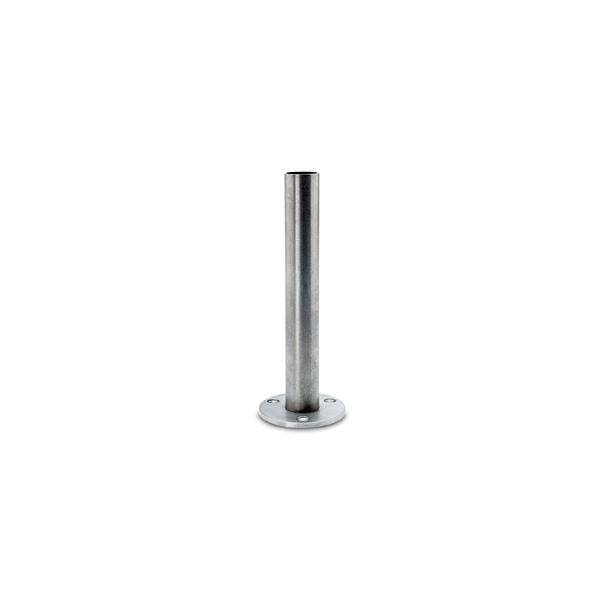 Innenrohr Höhe 83cm mit Flansch für 25,4, 38,1 oder 50,8 mm Rohr