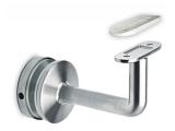 Handlaufstütze Edelstahl Design flach für...