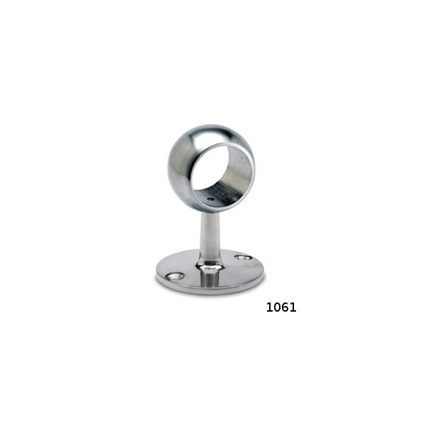 Rohrhalter Edelstahl für 25,4, 38,1 oder 50,8 mm Durchmesser