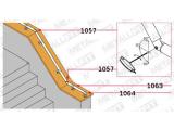 Rohrhalter Edelstahl für 19,0, 25,4, 38,1 oder 50,8 mm Durchmesser