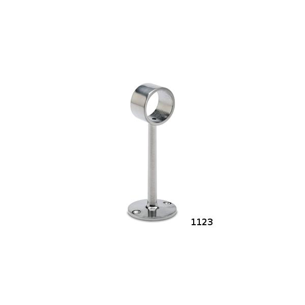 Rohrhalter Edelstahl 130mm für 25,4 oder 38,1 mm Durchmesser