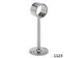 Rohrhalter Edelstahl 130mm für 25,4 oder 38,1 mm...