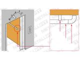 Endbogen Messing Design für 38,1 mm Rohr