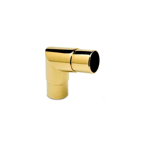80 Grad Rohrverbinder Messing Design für 25,4 oder 38,1 mm Rohr