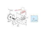 Handlaufhalter Messing Design Handlaufträger flach