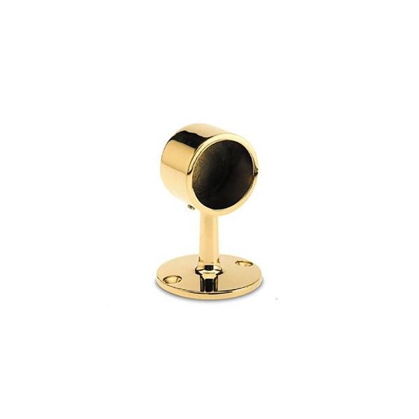 Handlaufträger Messing Design Rohrendhalter für 19,0, 25,4, 38,1, oder 50,8 mm Durchmesser