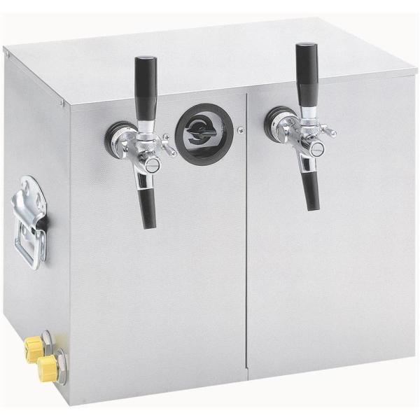 Obertheken Bierkühler Zapfanlage Bierzapfanlage Trockenkühler 35 Liter/h