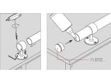 Rohrhalter Chrom für 19, 25,4, 38,1 oder 50,8 mm Durchmesser