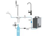 Tafelwassergerät Untertisch ohne Kühlung mit...