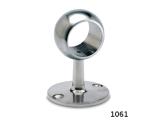 Rohrhalter Edelstahl für 25,4 mm Durchmesser