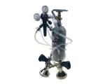 Zapfanlage SET 2-ltg Druckminderer CO2 und Bierschlauch...