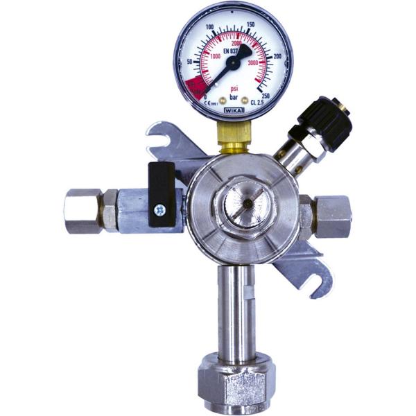 Druckminderer Druckregler Druckminderventil 1-leitig OHNE Arbeitsmanometer 3 bar