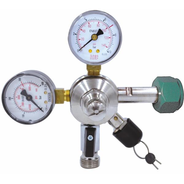 Stickstoff Druckminderer Druckregler Druckminderventil 3 bar oder 7 bar