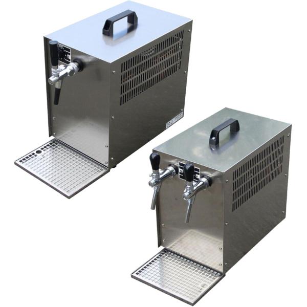 Bierkühler Zapfanlage Bierzapfanlage mit Kühlung Trockenkühler 60 Liter/h
