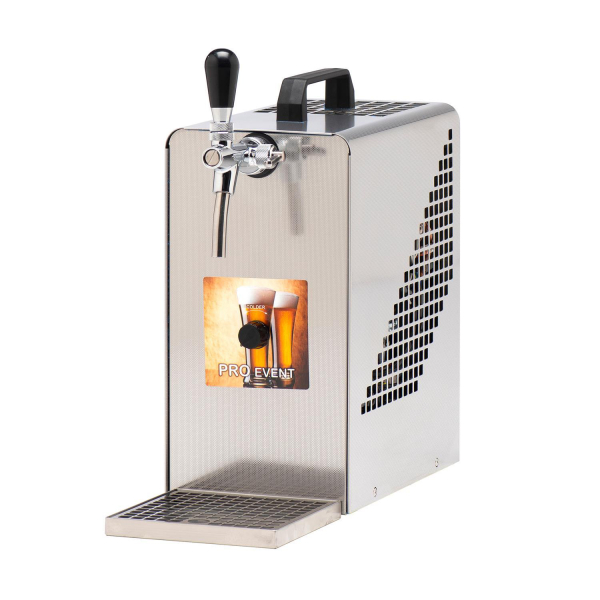 Zapfanlage Bierzapfanlage Zapfgerät Trockenkühlgerät mit Membranpumpe 25 Li/h
