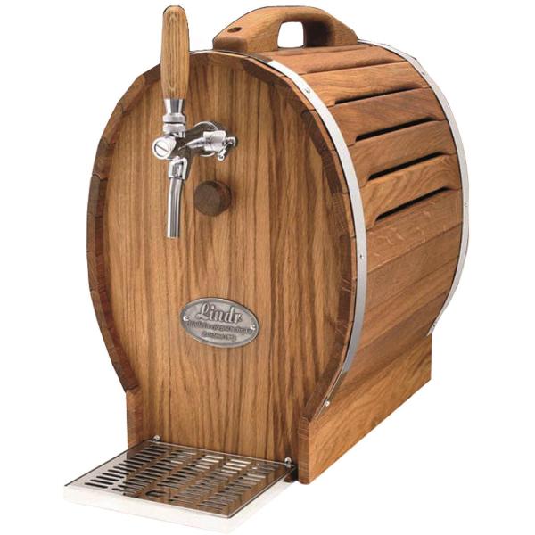 Zapfanlage Bierzapfanlage Zapfgerät Trockenkühlgerät Bierkühler Holzfass 35 L/h