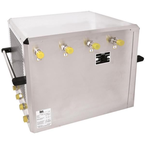 Untertheken Bierkühler Zapfanlage Bierzapfanlage Trockenkühler 200 Liter/h