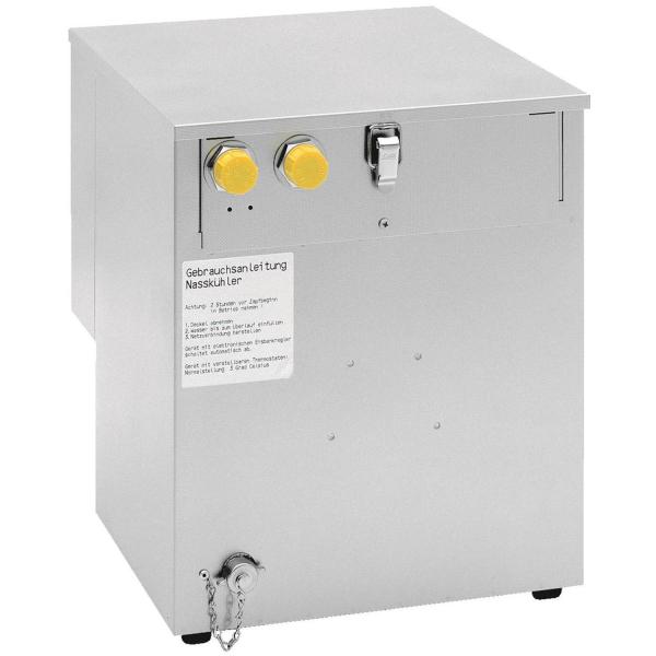 Wasserbad Begleitkühlung für Zentralkühlung