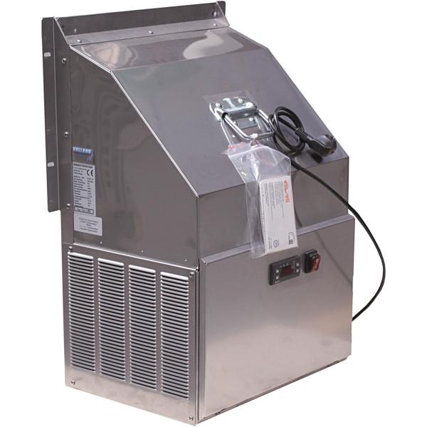 Seitenkühlgerät aus Edelstahl für Faßkühler Fassvorkühler